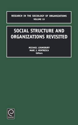 sociology cultural and social organisation Social structure is the organized set of the organization and operation of these social institutions in a given definition of social order in sociology.