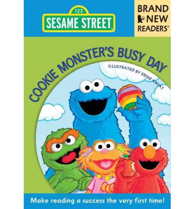 Ebook free downloads pdf format Cookie Monsters Busy Day : Brand New Readers by Sesame Workshop, Ernie Kwiat PDF