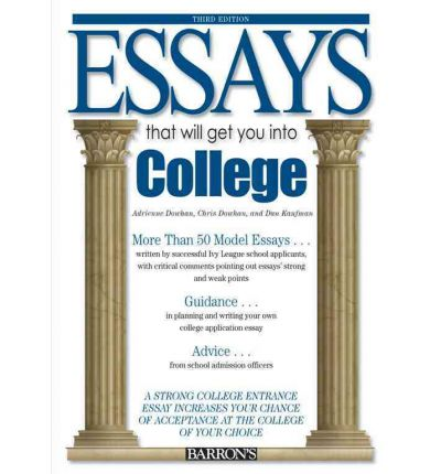 essay to get back into college College admissions officers read thousands of college application essays exceptional application essays can help students with marginal scores get into the.