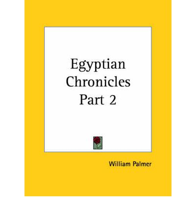 Egyptian Chronicles Vol. 2 (1861)