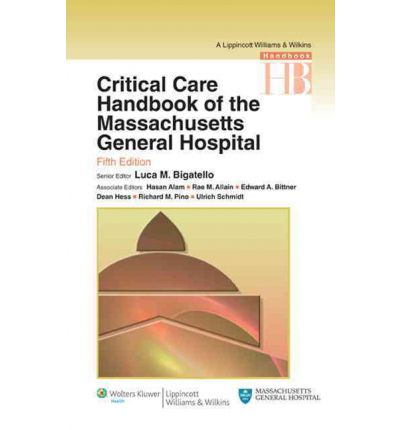 Critical Care Handbook of the Massachussetts General Hospital