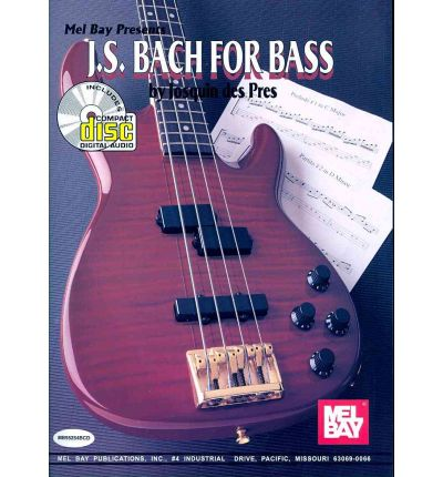Bach, J. S. for Bass Book/CD Set