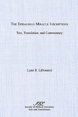 The Epidaurian Miracle Inscriptions