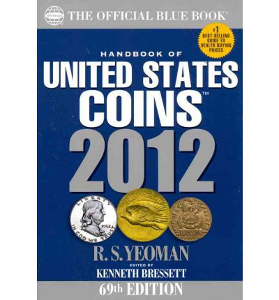 2012 Hand Book of United States Coins Blue Books