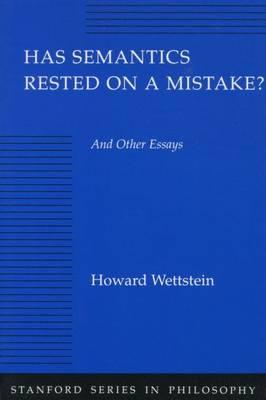essay has in mistake other philosophy rested semantics series stanford