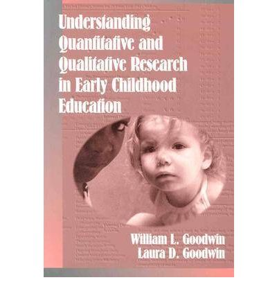 papers on quantitive research in early childhood education The papers were authored by 287 researchers, most of whom published   protection processes and services, early childhood education and childcare  a  quantitative analysis was undertaken of the following information.
