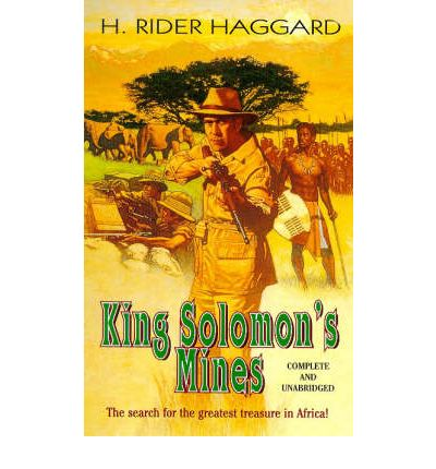 a comparison between heart of darkness by joseph conrad and king solomons mines by h rider haggard