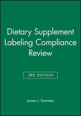 Dietry Supplement Labeling Compliance