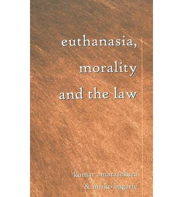 morality and euthanasia Medical ethics is a system of moral principles that apply values to the practice of clinical medicine and in scientific research artificial insemination, sterilization, euthanasia boston: beacon.