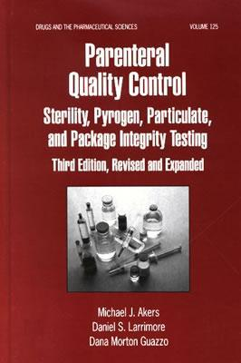 quality control of parenterals Criticality is used as a risk-based tool to drive control strategies.