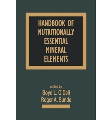 Handbook of Nutritionally Essential Mineral Elements