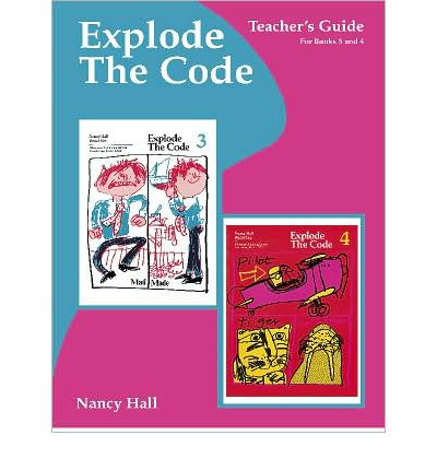 Explode the Code Teacher's Guide/Key Books 3 - 4