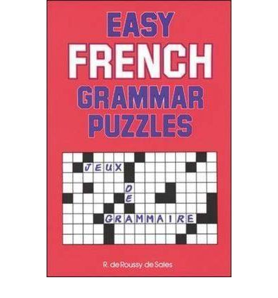 Easy French Grammar Puzzles