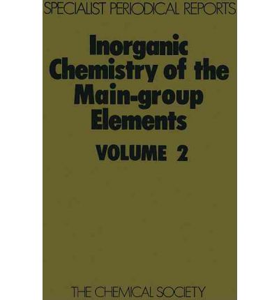 Inorganic Chemistry of the Main-Group Elements