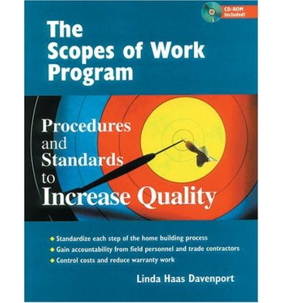 The Scopes of Work Program : Procedures and Standards to Increase Quality