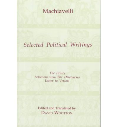 niccolo machiavelli writings Home → sparknotes → philosophy study guides → the prince → themes the prince machiavelli asserts that a number of order prince and other writings at.
