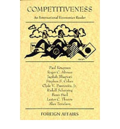 Descarga de libros electrónicos en línea Competitiveness : An International Economics Reader by Paul R. Krugman, Etc., Et Al PDF ePub iBook