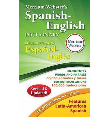 Merriam webster s spanish english dictionary paperback english spanish