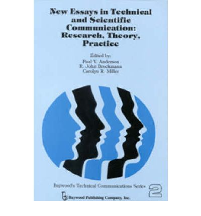 new essays in technical and scientific communication