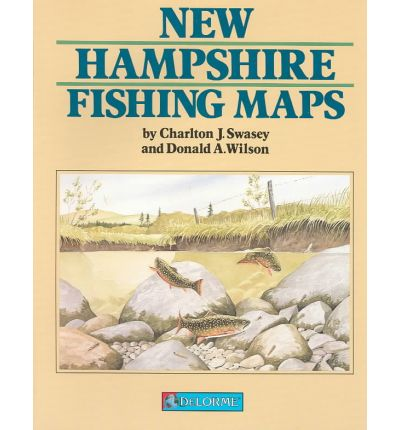 New hampshire fishing map book w donald wilson for New hampshire fishing