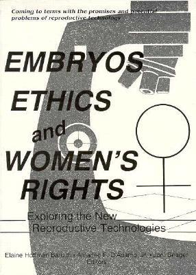 """embryos and ethics 2013-6-5 a recent article in the new england journal of medicine has what might be one of the most alarming headlines of the year: """"made-to-order embryos for sale: a brave new world"""" here's the issue: one of the great achievements of 20th-century medicine has been the progress made in the area of."""
