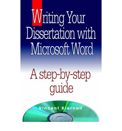 writing dissertation microsoft word