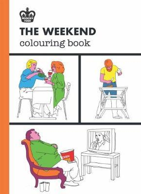 Modern Toss: The Working Day Colouring Book