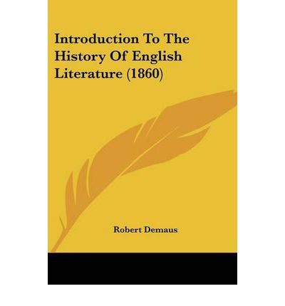 An introduction to the history of the literature by tennyson
