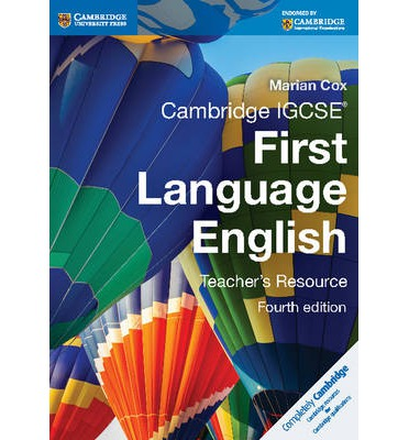 cambridge igcse english coursework