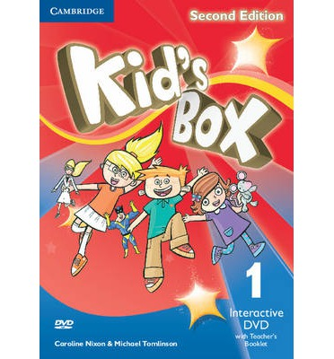 Kid's Box Level 1 Interactive DVD (NTSC) with Teacher's Booklet: Level 1