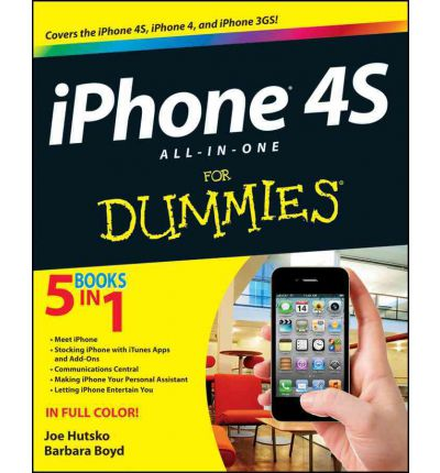 iPhone 4S All-in-One For Dummies