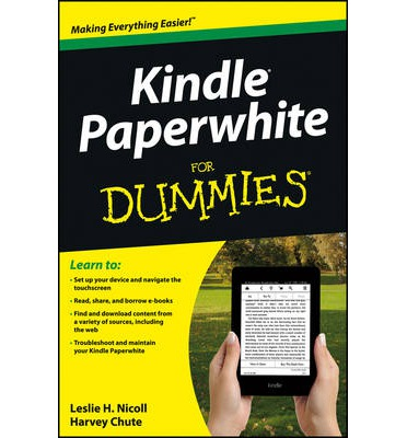 kindle paperwhite instructions for dummies
