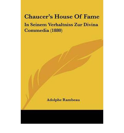 chaucers the house of fame the The medieval review havely, nick, ed geoffrey chaucer: the house of fame  durham medieval and renaissance texts, 3 toronto pontifical.