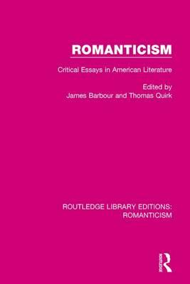 romanticism in american lit essay Transcendentalism: transcendentalism was a 19th-century american literary and philosophical movement based in new england.