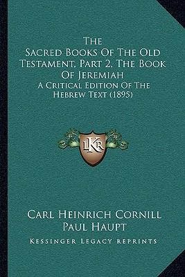 a description of the life of jeremiah in the old testament Jeremiah: abingdon old testament commentaries the life, letters, and theology publisher's description.
