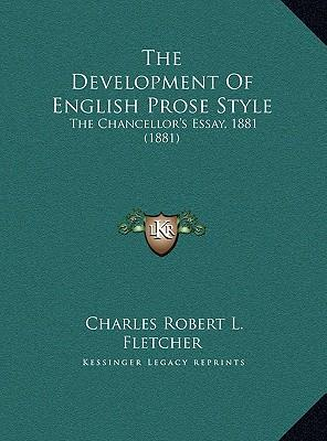 essays on english prose style