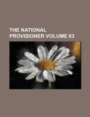 The National Provisioner Volume 63