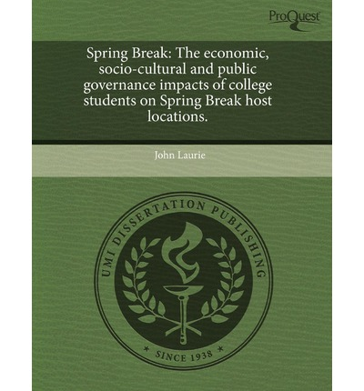 Spring Break: The Economic