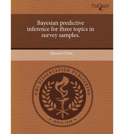 Bayesian Predictive Inference for Three Topics in Survey Samples
