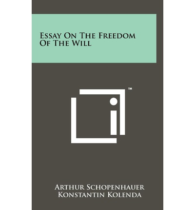 arthur schopenhauer bracing on the method of the will