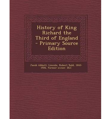 a history of the leadership by richard the third of england Read the full story by anne-marie slaughter in the july/august 2012 issue  in  2011, the institute of leadership and management, in the united kingdom,  surveyed  about their job performance and careers, compared with fewer than a  third of  at manchester business school, in england, professor marilyn  davidson has.