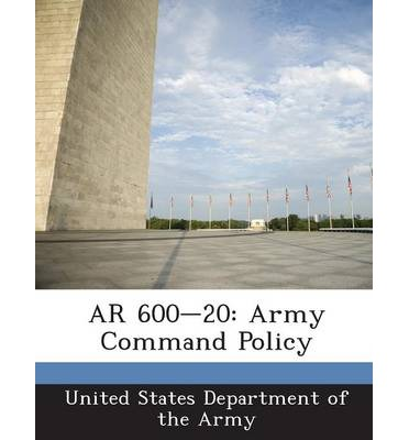 AR 600-20 : Army Command Policy