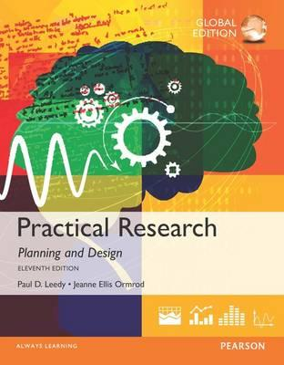 Practical Research Planning And Design Paul D Leedy 9781292095875