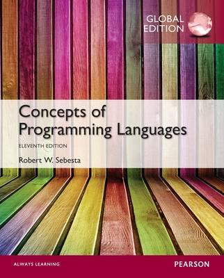 programming language slides r w sebesta Encuentra concepts of programming languages de robert w sebesta (isbn: 9780131395312) en amazon sebesta strives to prepare the reader for the study of compiler design by providing an in-depth discussion of programming language structures.