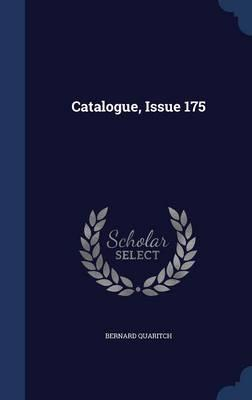 Catalogue, Issue 175