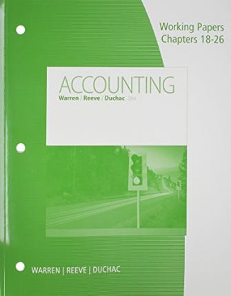 accounting intermediate papers working