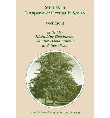 Studies in Comparative Germanic Syntax: v. II