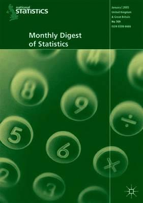 Monthly Digest of Statistics: August 2005 v. 716