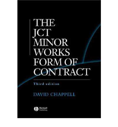 JCT Minor Works Form of Contract