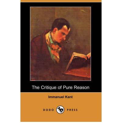 critique of pure reason essay The project gutenberg ebook of a commentary to kant's 'critique of pure reason', by norman kemp smith this ebook is for the use of anyone anywhere at no cost and with almost no the critique of pure reason is more obscure and difficult than even a circumstantial the german translation of beattie's essay.